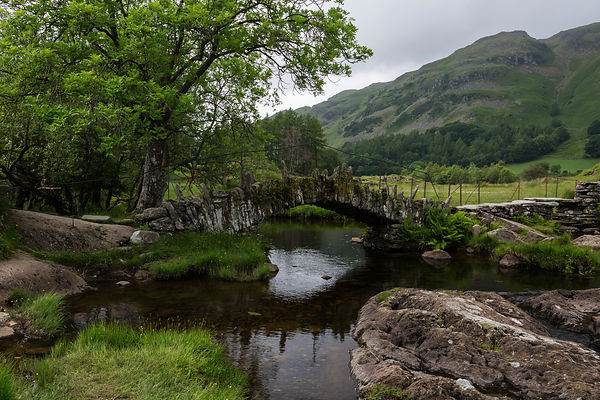 Slater Bridge & The River Brathey in Little Langdale