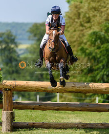 Bubby Upton and MEXICAN WAVE, Fairfax & Favor Rockingham Horse Trials 2018
