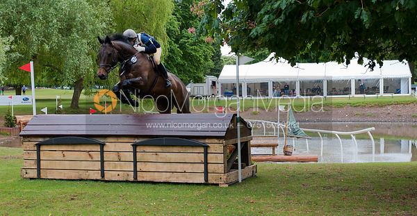 Clare Austin and Rooskey, Subaru Houghton International Horse Trials, May 2011