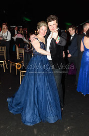 Holly Campbell, Nick Winterton. The Quorn Hunt Ball