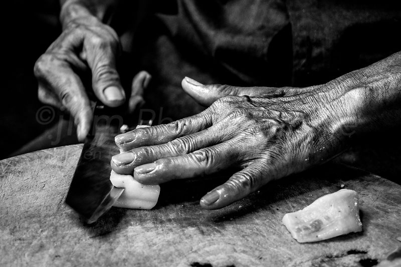 Hand Project - Fishmonger