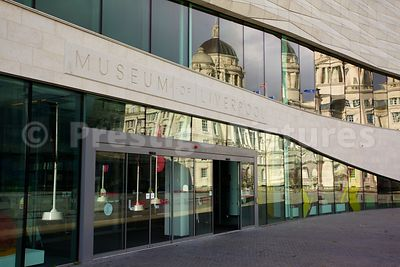 Entrance to the Museum of Liverpool