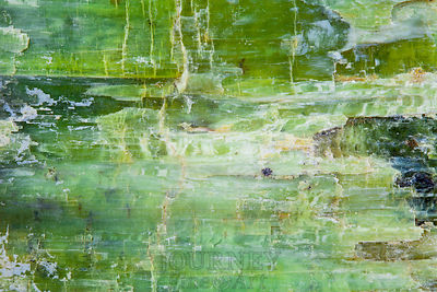 Green Mineral Abstract
