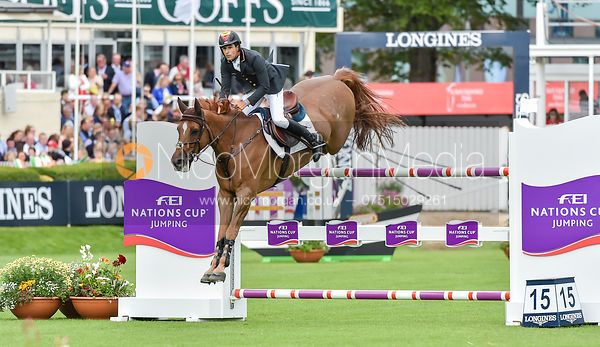 Manuel Fernandez Saro and U WATCH - FEI Nations Cup, Dublin Horse Show 2017