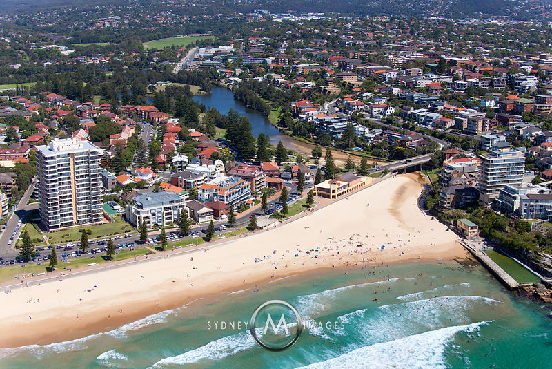 Queenscliff Beach and Manly Lagoon