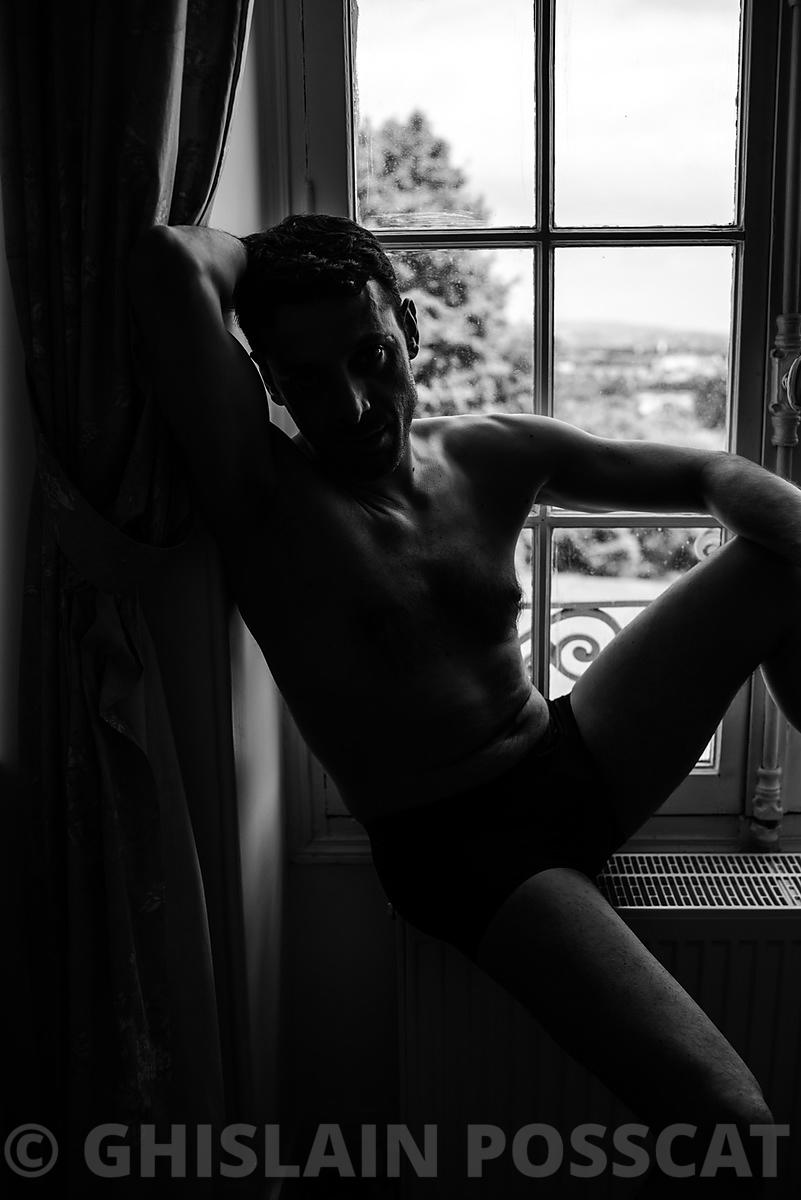 Shooting photo masculin pour homme à Paris