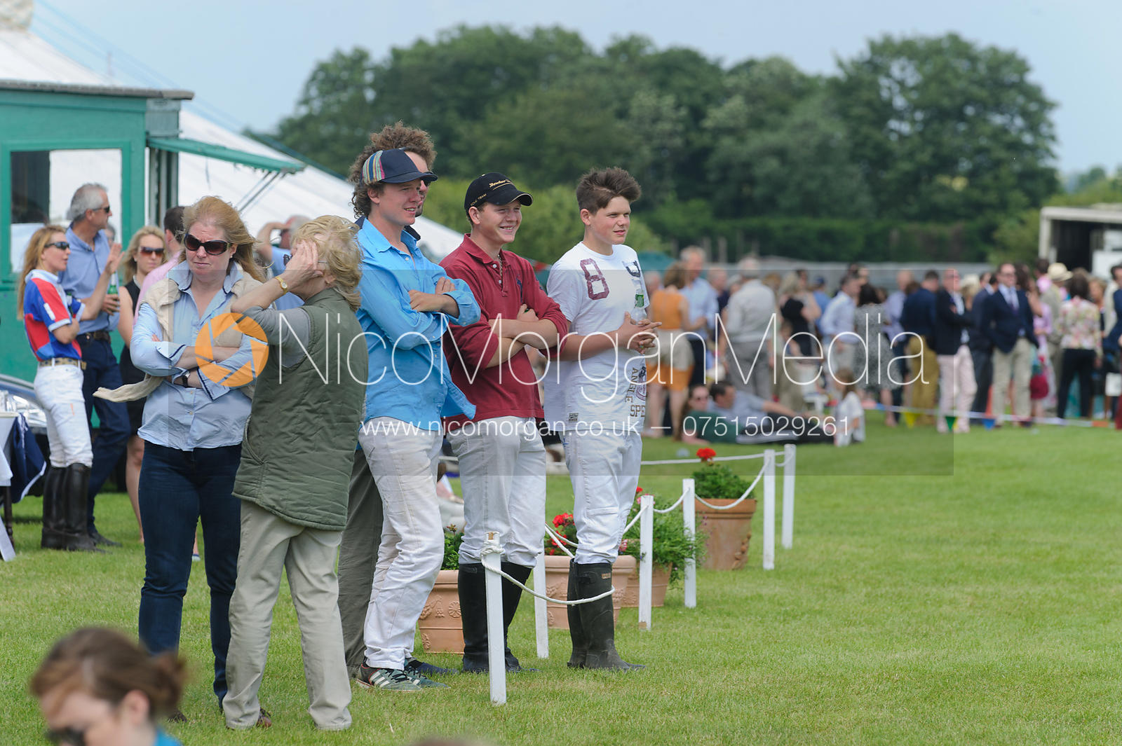 Crowds - Assam Cup - Rutland Polo Club, 30th Jun 2013.