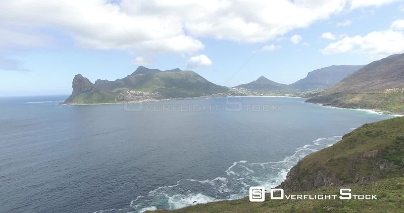 Drone Video Cape of Good HopeHout Bay and Chapmans Peak South Africa