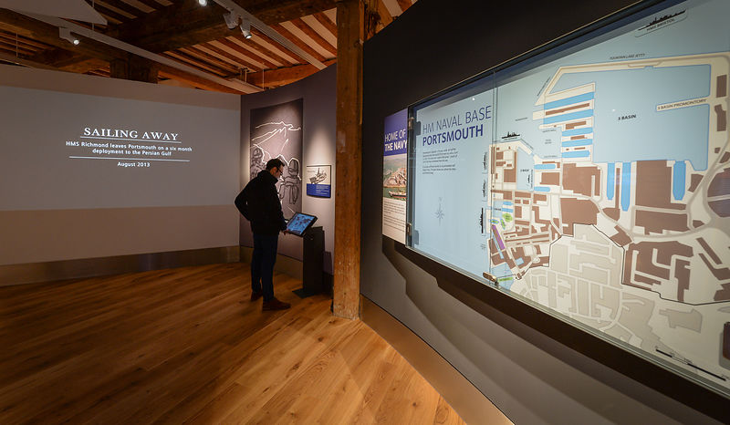 Hear My Story exhibition at Portsmouth Historic Dockyard