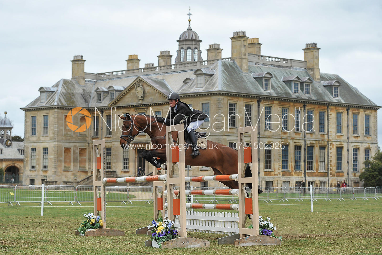 James Sommerville and ANGEL EYES - Belton Horse Trials