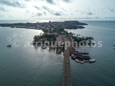 Freetown from above