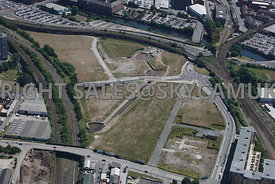 Manchester Aerial photograph of Middlewood Lock development area Salford