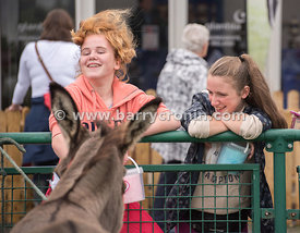 19th August, 2015.The 74th Virginia Agricultural Show, Virginia, County Cavan. Pictured is Amy Farrelly and Aoife Clarke both...