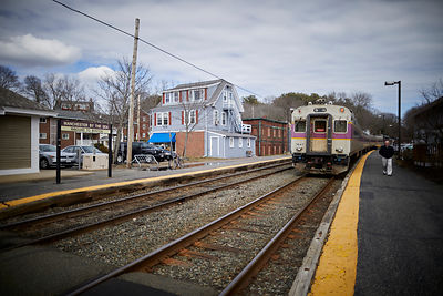 MBTA Commuter train