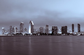 Picture of San Diego Skyline at Night