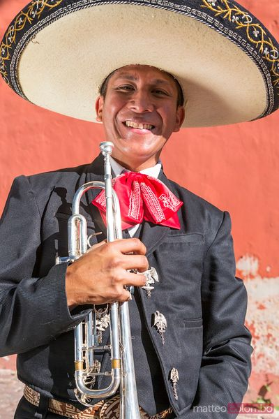 Traditional mexican Mariachi group in Merida, Yucatan, Mexico