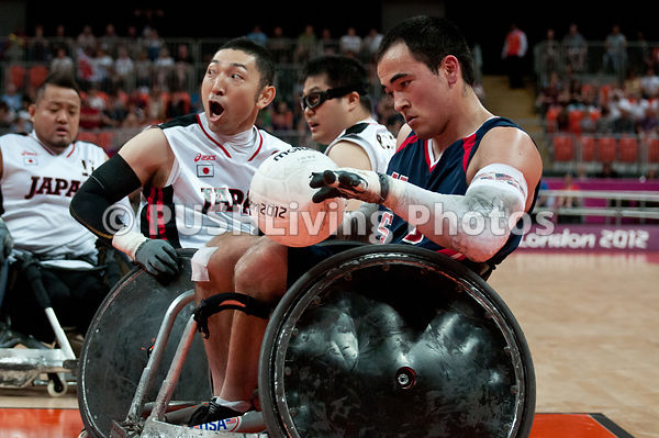 USA Paralympics Men's Wheelchair Rugby - Bronze Game