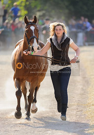 Sarah Stretton and SKIP ON - Mitsubishi Motors Badminton Horse Trials 2013