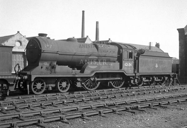 PHOTOS OF D11 CLASS 4-4-0 STEAM LOCOS