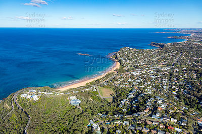 Newport Beach From Bilgola Plateau
