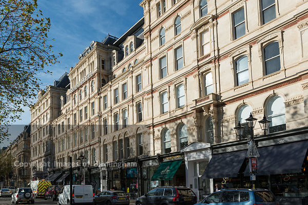 The newly refurbished Grand Hotel on Colmore Row, Birmingham