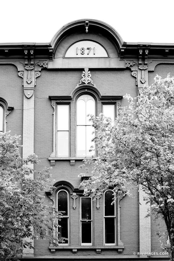 CITY OF SARATOGA SPRINGS NEW YORK BLACK AND WHITE