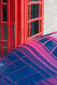 Melting Phone box