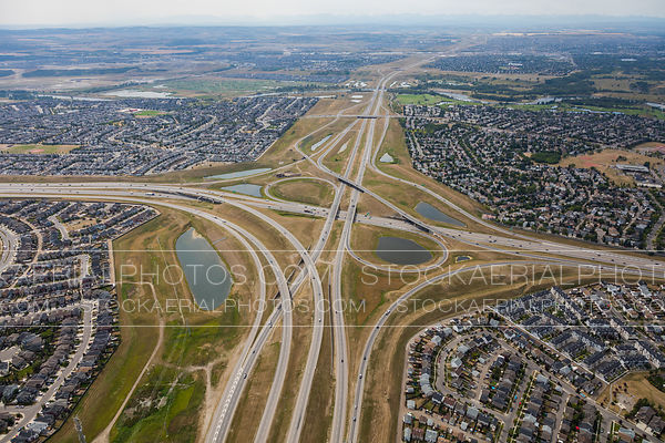 Highway 22X at Stoney Trail Interchange