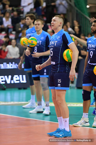 Sir Colussi Sicoma PERUGIA vs Zenit KAZAN / Semifinal, Home Match, 2019 CEV Volleyball Champions League - Men