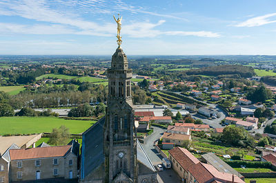 L archange de Saint Michel Mont Mercure