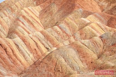 Linze danxia landform, Zhangye, Gansu, China