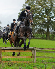 Adrienne Coombe - The Cottesmore Hunt at Tilton on the Hill, 9-11-13