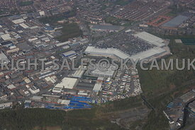 Cheetham Hill Industrial Area of North Manchester