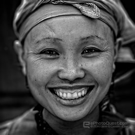 Zao Tribal Woman