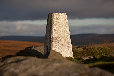 Trig point on White Edge
