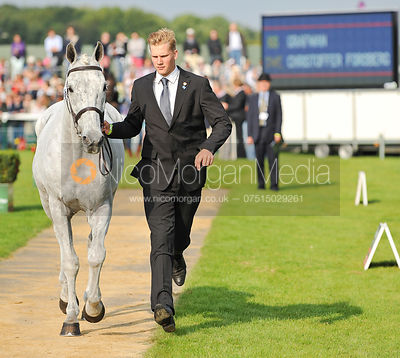 Christoffer Forsberg and Grafman - 2nd Inspection - Burghley 2010