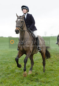 Amelia Leeming at Knossington Spinney - The Fitzwilliam Hunt visit the Cottesmore at Burrough House