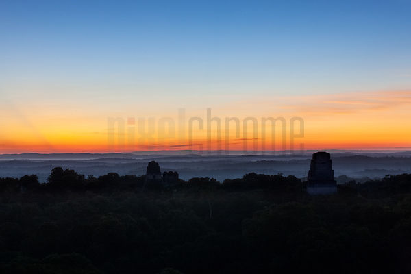 Sunrise from Temple 4