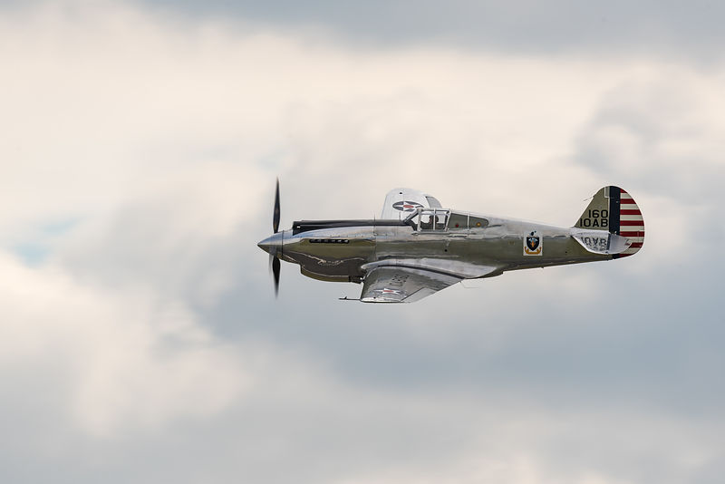 Curtiss-Wright P-40C Warhawk