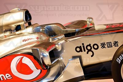 McLaren MP4-25 Launch, Newbury, GB, Vodafone, Mercedes