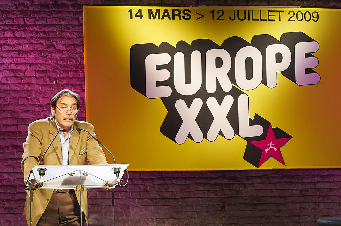 Cengiz AKTAR au Colloque EUROPE XXL
