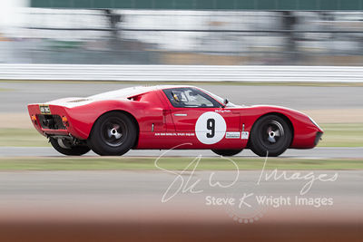 Ford GT40 (4.7-litre V8, 1965) - Silverstone Classic 2013