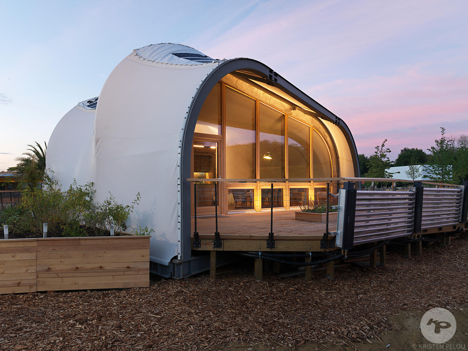 Architecture Photographer Paris - SOLAR DECATHLON 2014 VERSAILLES. Photo ©Kristen Pelou