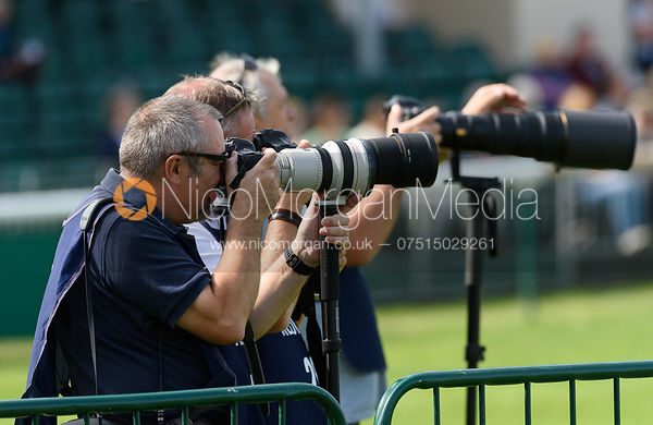 , dressage phase, Land Rover Burghley Horse Trials 2018