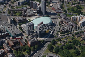 Leeds aerial photograph of Merrion Way First Direct Arena