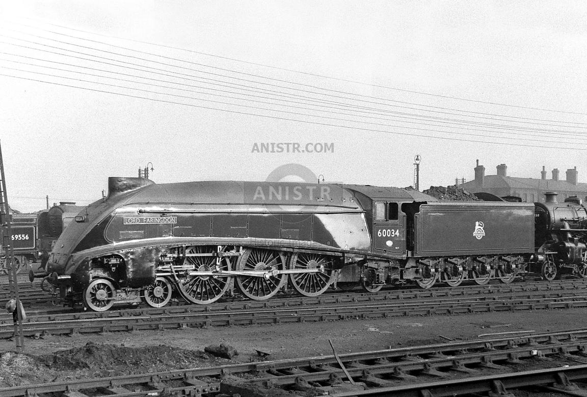 Steam Loco A4 60034 Doncaster