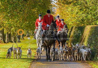 The Cottesmore Hunt Opening Meet at Preston Lodge 18/10