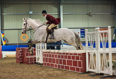 Will Spencer - Quorn Hunt Gate Jumping Competition 2012