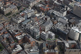 Leeds aerial photograph of East Parade area of Leeds