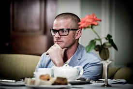 Photographing Heston Blumenthal and Olivia Towers